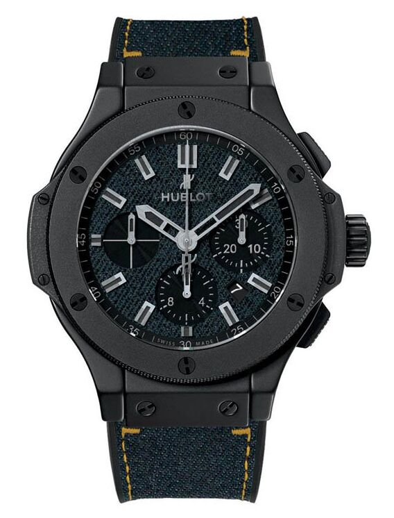 Replica Hublot Big Bang Dark Jeans Ceramic Watch 301.CI.2770.NR.JEANS14